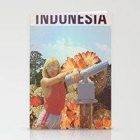 indonesia Stationery Cards featuring Indonesia  by Mariano Peccinetti