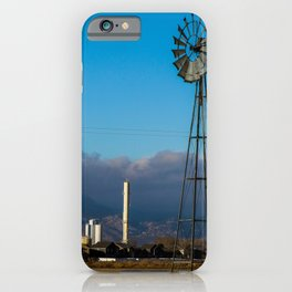 Colorado Windmill iPhone Case