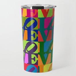 Love Pop Art Travel Mug