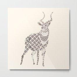 Mountain Nyala Metal Print