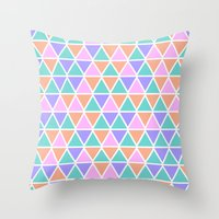 geo Throw Pillows featuring GEO by Isabella Salamone