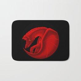 fierce dragon Bath Mat