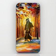 handsome art iPhone & iPod Skin