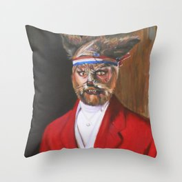 I'm A Foxy Lord Throw Pillow