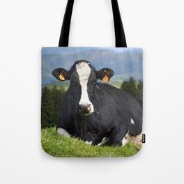 Cow portrait Tote Bag