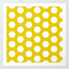 Paulsen Yellow Art Print