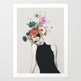 Floral beauty Art Print