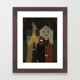 I will lead you Framed Art Print