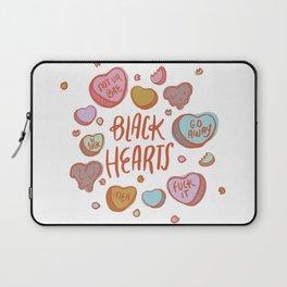 Black Hearts Laptop Sleeve