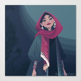 Tehran Fashion I Canvas Print