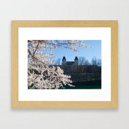 The Kennedy Art Museum in Spring Framed Art Print