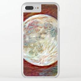 Mare Imbrium Clear iPhone Case