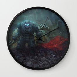 The Black Knight Prevails! Wall Clock
