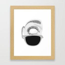 Surprised by Boomstick Framed Art Print