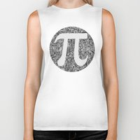 pi Biker Tanks featuring PI by Nora
