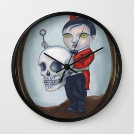 Head Banger - Carnival Sideshow Freak Wall Clock