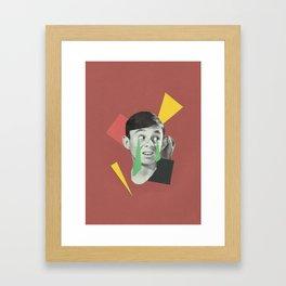 Take It All Back Framed Art Print