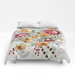 Fall Protea Bouquet Comforters