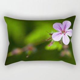 Geranium Robertianum Rectangular Pillow