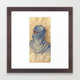 SAHARIAN Framed Art Print