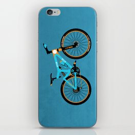 Mountain Bike iPhone Skin