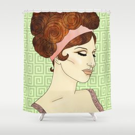 Barbra Shower Curtain