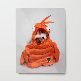 Incognito Hedgehog Metal Print