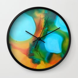 Tropical Toast Wall Clock