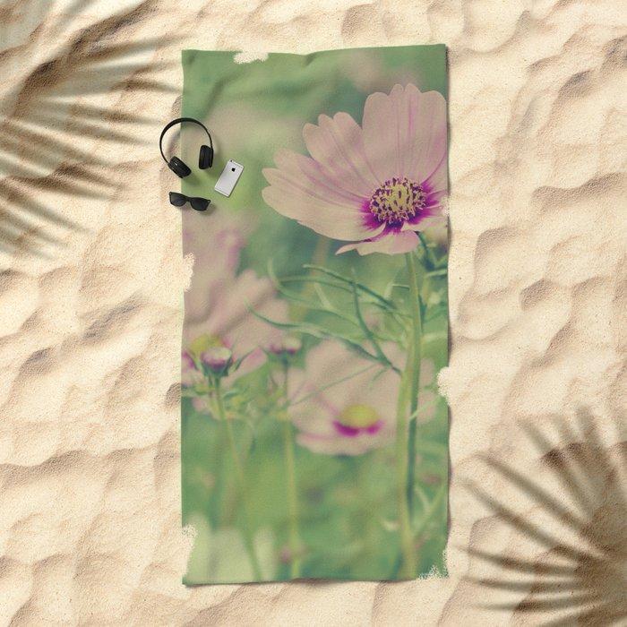 Summer's Blush Beach Towel