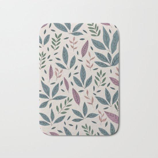 Hand drawn Pattern #01 Bath Mat