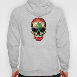 Dark Skull with Flag of Lebanon Hoody