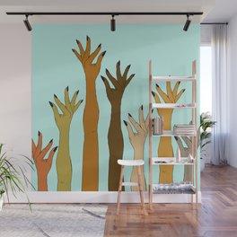 Hands Don't Judge - Size Don't Matter ... NOT! ;) Wall Mural