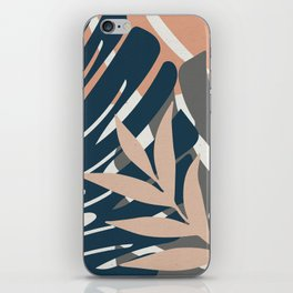 Monstera Details iPhone Skin