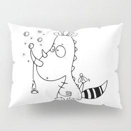 Le rhinodino Pillow Sham