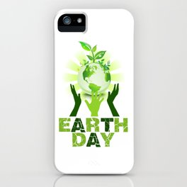 Earth Day 2018 iPhone Case