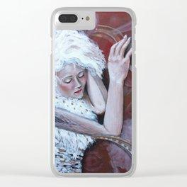 Ingrid Sleeps Clear iPhone Case