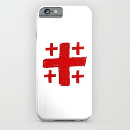Jerusalem Cross 5 iPhone Case