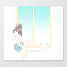 Toi et Moi Canvas Print