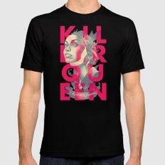 KILLER QUEEN ALT SMALL Mens Fitted Tee Black