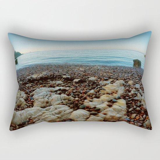 Secret bay Rectangular Pillow