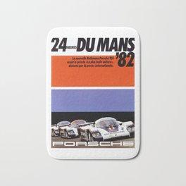 Le Mans 1982, 24hs Le Mans, 1982, original vintage poster Bath Mat