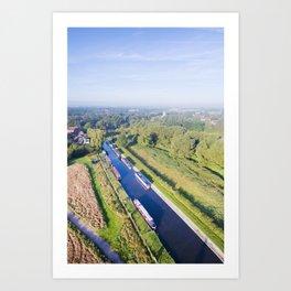 Alrewas canal Art Print