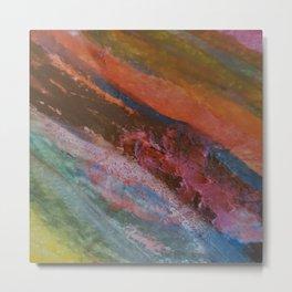 Vetas de colores // Colored streaks Metal Print