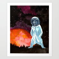 Kosmobar Art Print