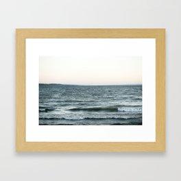 SENECA LAKE Framed Art Print