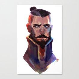 Sokka Portrait Canvas Print
