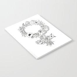 Feminist Flower  2.0 Notebook