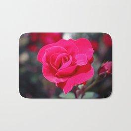 A Rose Says Love Bath Mat