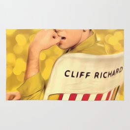 Cliff Richard, Pop Singer Rug