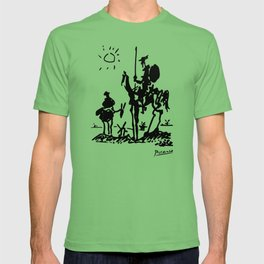 Pablo Picasso Don Quixote 1955 Artwork Shirt, Reproduction T-shirt